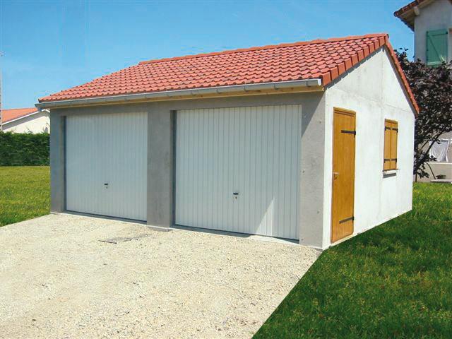 Garage voiture en kit beton