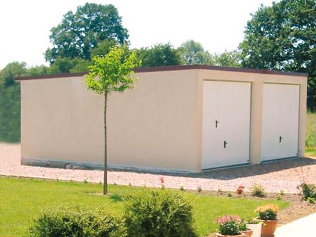 Garage béton - Plaques verticales