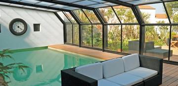 Abri de piscine – Attik – 2 angles