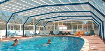 Abri de piscine – quintessenz- haut