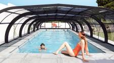 Abri de piscine – Elliptik – Haut