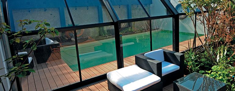 abri piscine adosse maison nanterre maison design. Black Bedroom Furniture Sets. Home Design Ideas
