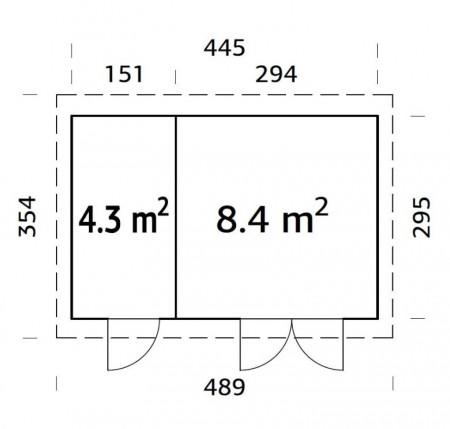 Lara-_12.7-m²-plan-450x429