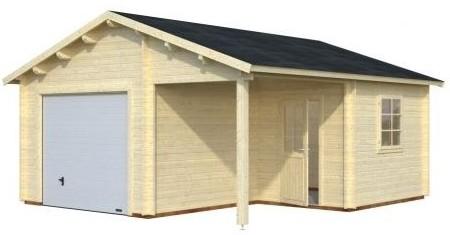 mattei allier montlu on garage b ton abris m tal en kit. Black Bedroom Furniture Sets. Home Design Ideas