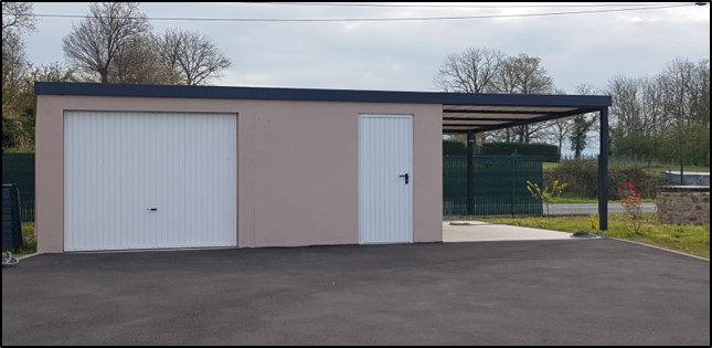 Garage béton - Grands panneaux série prestige (19)