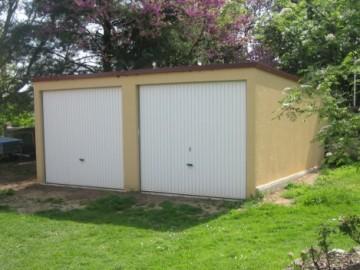 Garage béton – Simple pente 6,08m*5,60m avec option auvent– Mattei Saint Victor Montluçon